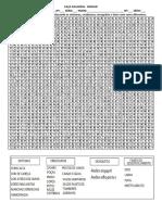 Caca Palavras Dengue PDF