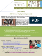 discovery for teachers 2016