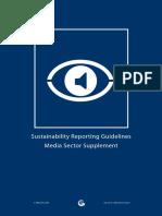 GRI Media Sector Suplement Complete