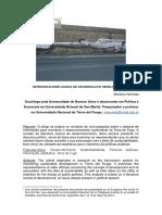Representaciones acerca del desarrollo en Tierra del Fuego- Mariano Hermida