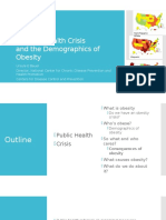 Public Health Crisis and Demographics of Obesity