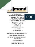Manual de Operacion Torre Allmand Nlpro II Esp