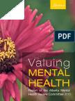 Alberta Mental Health Review 2015