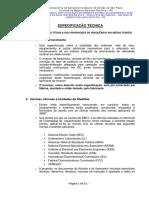 Inversores MT_Especificação SABESP - Cubatão