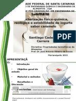 reologia iogurte