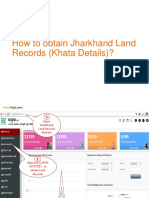 Land Records in Jharkhand