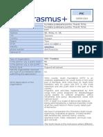 Partnership Identification Form FITT