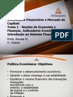 VA Instituicoes Financeiras e Mercado de Capitais Aula 1 Tema 1