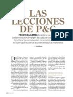 DANIEL CAMPOS Las lecciones de P&G