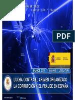 Balance del Crimen Organizado 2015 y de la lucha contra la corrupción y el fraude