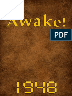Awake! - 1948 issues on