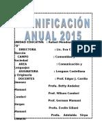 Plan Anual Comunicacion 2016