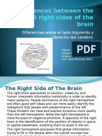 Differences Between the Left and Right Sides Of