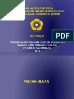 Peran Alteplase Pada STEMI, Dr.edi Hidayat