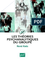 Les Theories Psychanalytiques