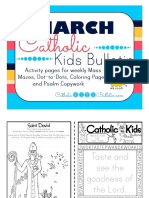 March 2016 Catholic Kids Bulletin