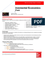 Changes Field Environmental Econ 7e