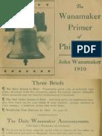 (1910) The Wanamaker Primer of Phiadellphia