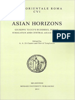 Asian Horizons - Studies in Honour of Giuseppe Tucci and His Legacy (Selected Articles)