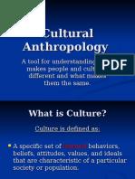 intro anthro to culture