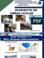 Area Tematica 1-Mtto Sist Hidrosan