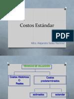 Procedimientos de Costeo Estandar