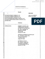 Court decision in Syracuse lawsuit against COR Development