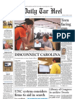 The Daily Tar Heel for April 16, 2010