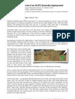 Warralong Journal of an XO deployment
