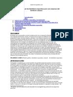 Diseno Del Manual Identidad Corporativa Empresa Del Territorio Cubano