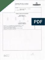 Certificado de Materiales