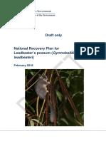draft-national-recovery-plan-leadbeaters-possum  1
