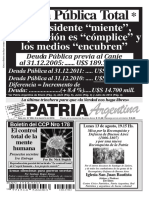Patria Argentina de Agosto 2012