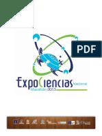 Resultados ExpoCiencias Nacional 2013