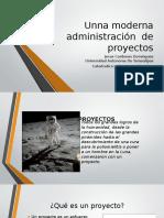 Unna Moderna Administración de Proyectos