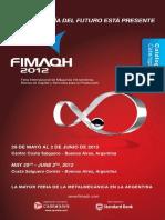 FIMAQH 2012 Catalogo