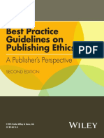 Best Practice Guidelines on Publishing Ethics 2ed