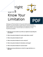 faith copyright laws worksheet