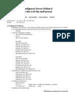 Konfigurasi Server Debian 5 SMK Mutiara Azzam Palembang WKWKWKWKW