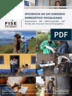 """""""Eficiencia Subsidio Energetico Focalizado"""""""