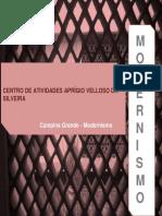 Clube do trabalhador- Modernismo