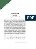 Marantz2000- Case and Licensing