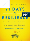 21 Days to Resilience by Zelana Montminy - Excerpt