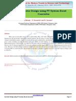 Inverter Design using PV System Boost Converter