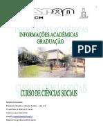 Ciências Sociais Folder 2015 CALOUROS