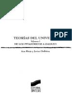 Teorías Del Universo. Vol I, Pt. 1