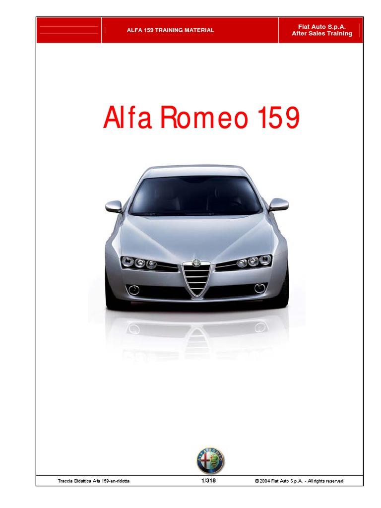 Alfa Romeo Sdometer Wiring Diagram Diagrams 159 Training Manual1 Throttle Fuel Injection