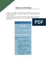 Conceptos Básicos de Fonología