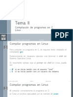 Com Pilar c Linux