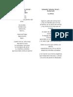 Poemas Salvadoreños